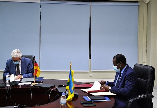 Rwanda, Germany sign € 78 million agreement on ICT, green investment and SMEs support